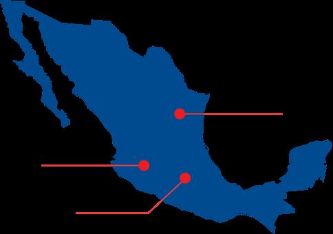 Indalum - Centros de Distribución